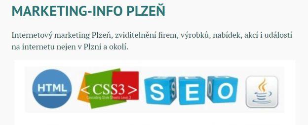 marketing info Plzeň