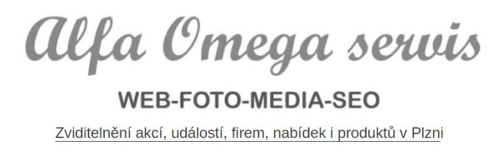 Alfa - Omega servis - SEO služby v Plzni - specialisté na SEO