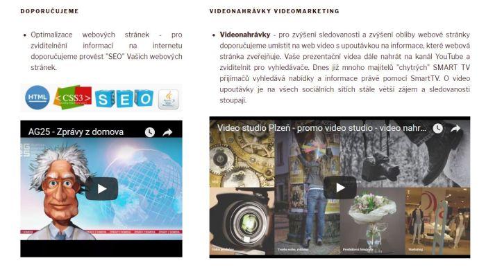 Tvorba webových stránek pro internetový marketing Plzeň