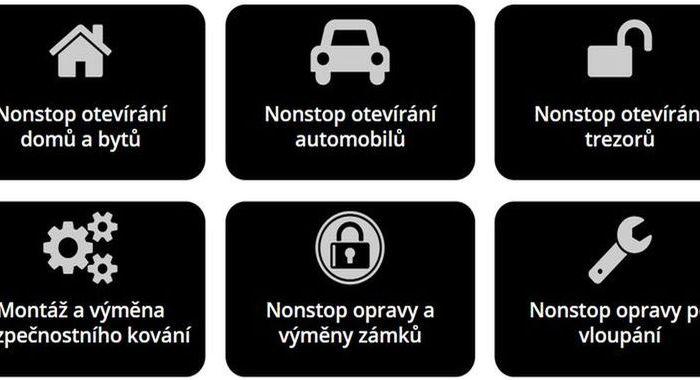 Zámečnictví – Zámečnictví pro Plzeň – služby zámečníkaNonStop